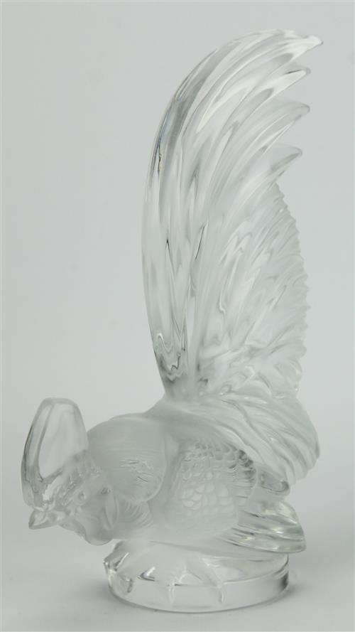 Lalique 'Coq Nain' Car Mascot
