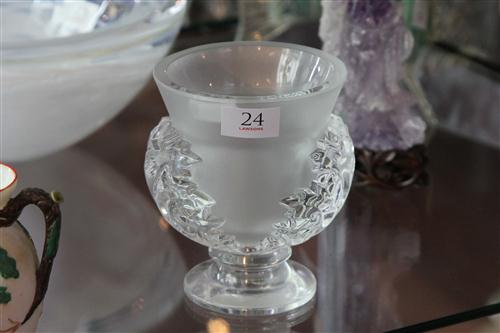 Lalique 'St Cloud' Vase