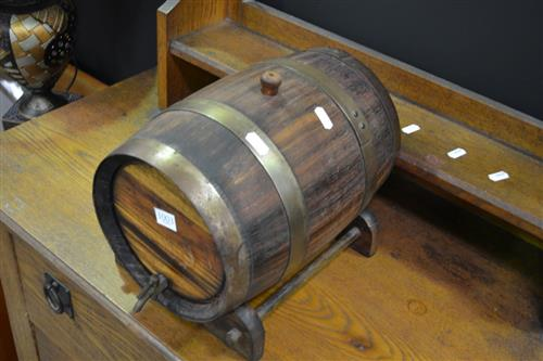 Vintage Timber Wine Beer Barrel
