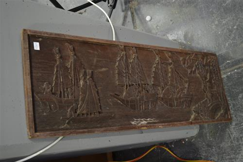 Carved Indo Panel