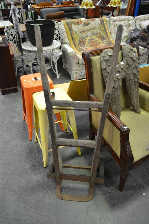 Vintage Timber Tilt Trolley