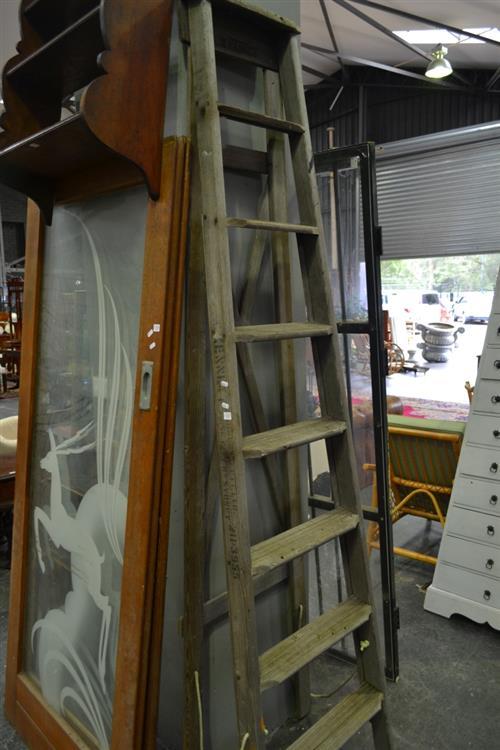 Timber A Frame Ladder