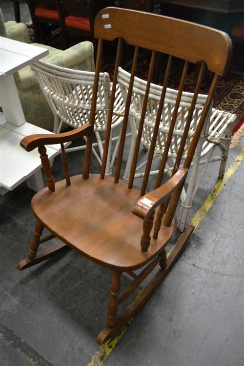 Timber Rocking Armchair