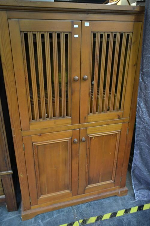 Timber Entertainment Cabinet w 4 Doors
