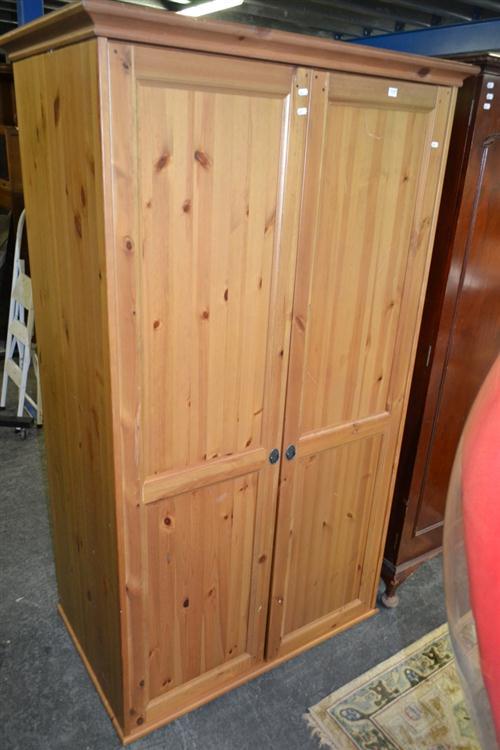 Timber 2 Door Wardrobe