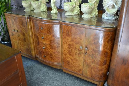 Art Deco Sideboard with Central Drawers