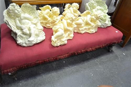 Victorian Upholstered Footstool