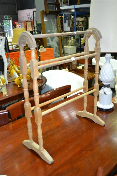 Timber Towel Rail