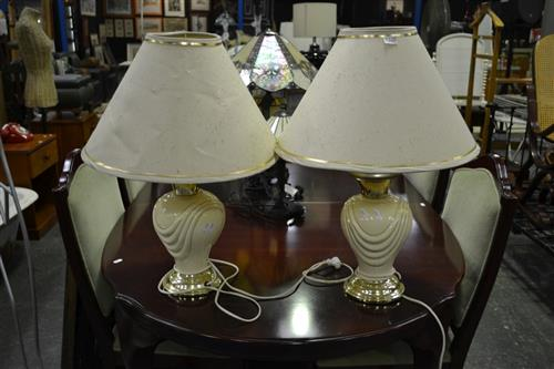 Pair of Ceramic table Lamps