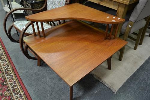 Teak Corner Coffee table