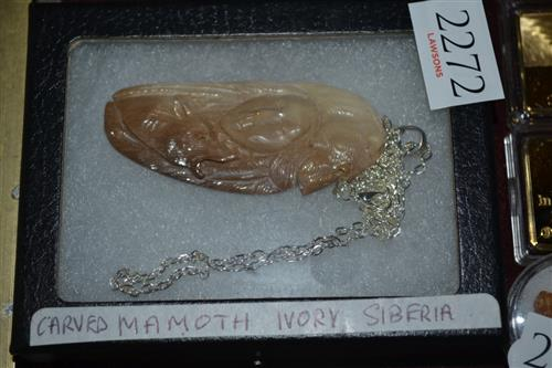 Mammoth Ivory Necklace