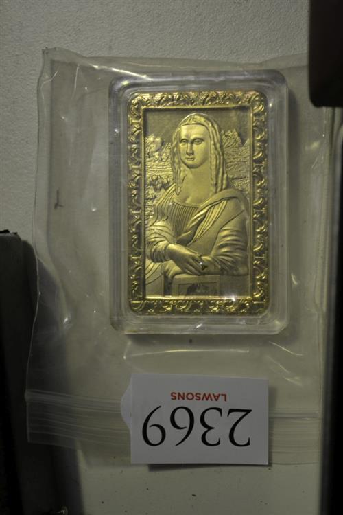 Mona Lisa Ingot
