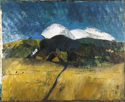 Berglandschaft Mexiko