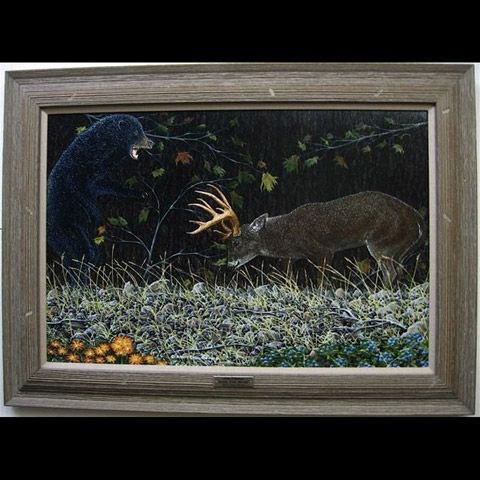 ANTLER'D EMBRACE (WILD ENCOUNTERS COLLECTIONS)