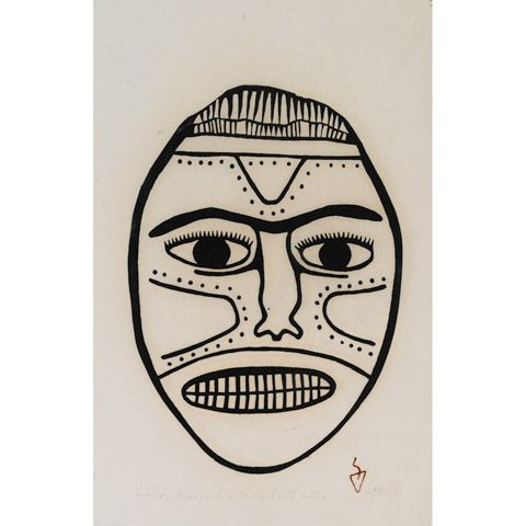 MASK WITH TATTOO