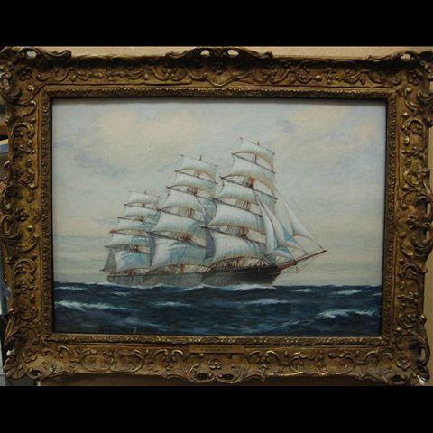 THE CLIPPER SHIP WARWICK