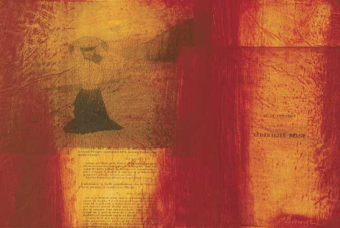 SOUVENIR OF SAINT VALERY - CONCERNING THE VIOLATION OF BELGIAN NEUTRALITY