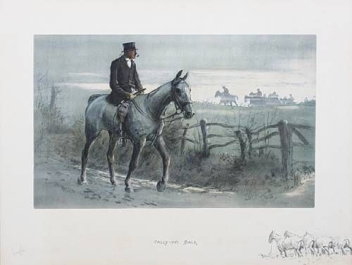 'Tally-Ho Back' (rare version)