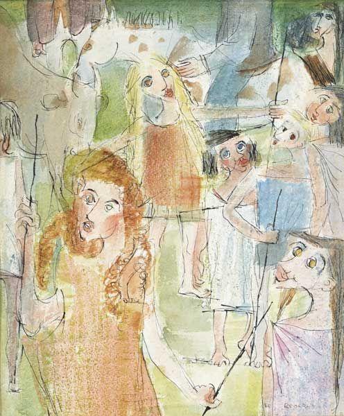 TINKER CHILDREN AT A FAIR