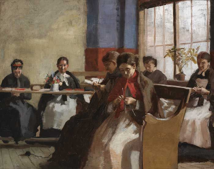 A GROUP KNITTING