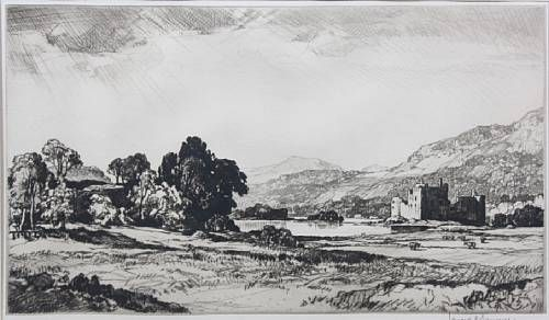 Edinburgh from Castle Hill; Kilchurn Castle