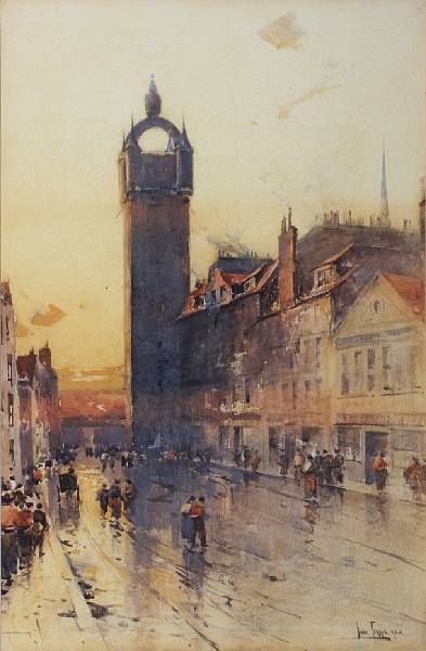 The Tolbooth Steeple, Glasgow