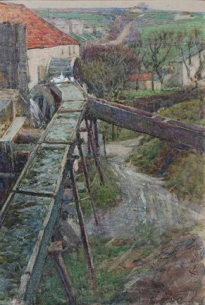 Old Haminer Mill, near Camborne, Cornwall
