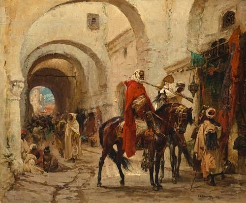 A bazaar in Egypt