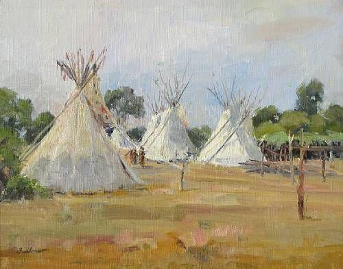 Crow camp