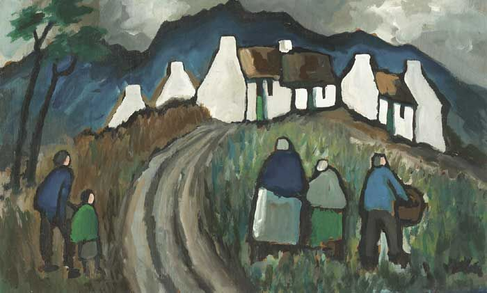 VILLAGERS AND COTTAGES