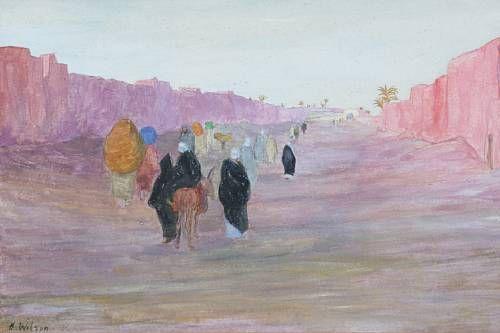 North African street scene