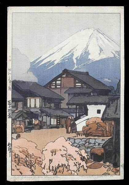 Comprising one woodblock