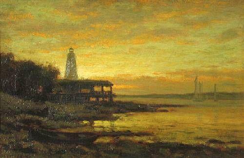 Lighthouse on Long Island Sound
