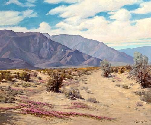 Desert Landscape (Southern California)