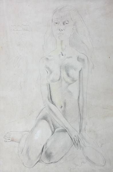 Study for 'Maiden'