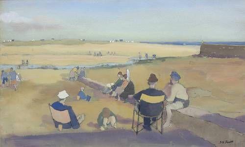 'Estuary at Lescoril'