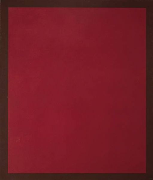Magenta with Brown Border