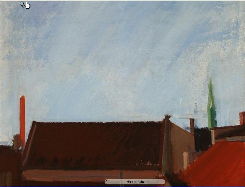 Udsigt fra Atelier (View from the Studio)