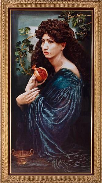 Portrait (Pomegranate)