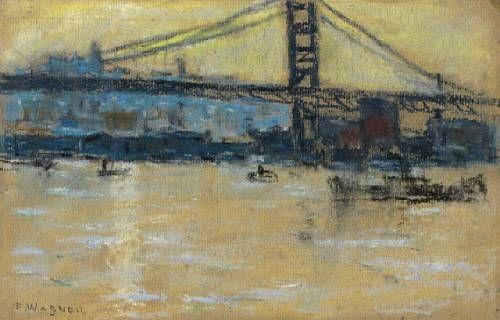 Bridge on the East River, New York