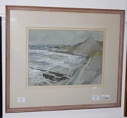 Incoming Tide at Spekes, North Devon
