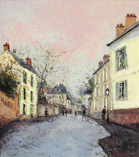 Vielle Rue à Montmartre
