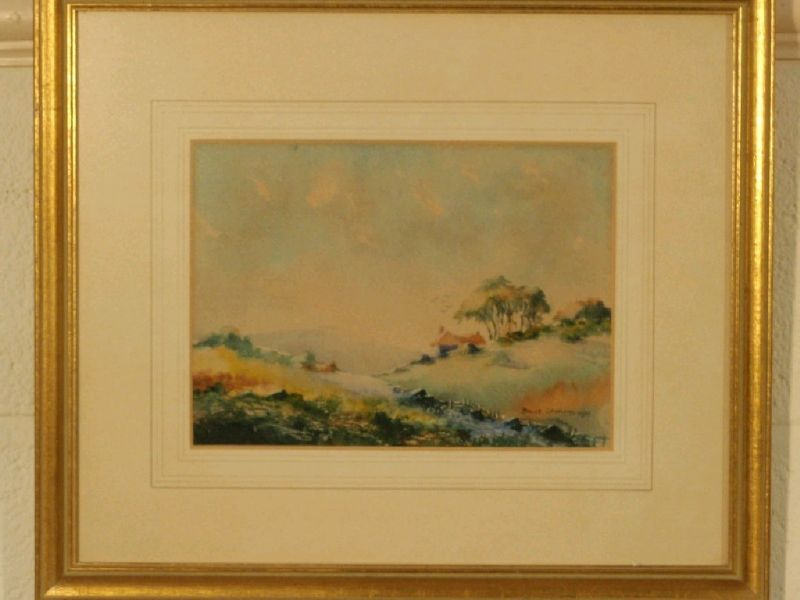 Cottage landscape - summer; another by the same hand
