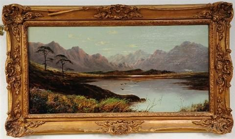 Highland Scene with River
