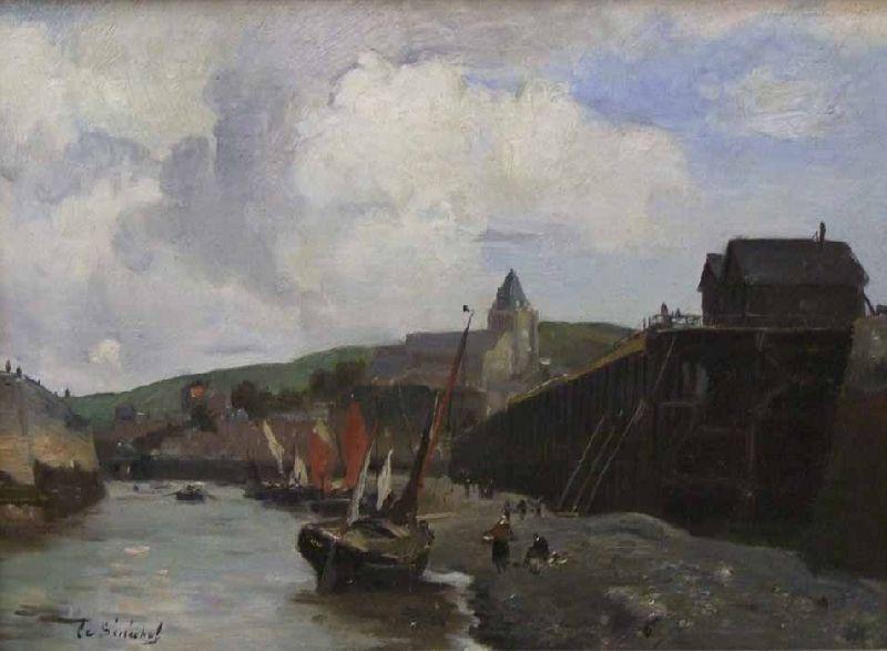 Le Treport en 1876