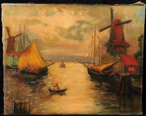 Dutch Harbor Scene
