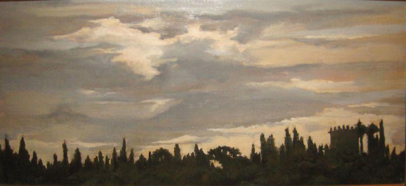 Clouds Over Villa
