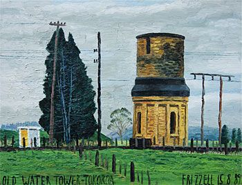 Old Water Tower - Tokoroa
