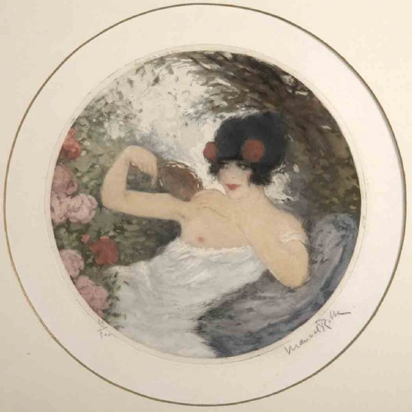 [SEATED LADY]
