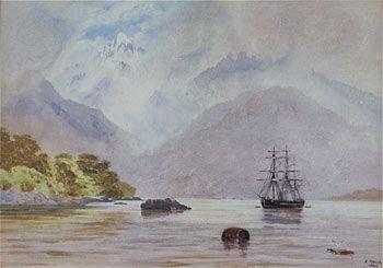 HMS Blanche in George's Sound